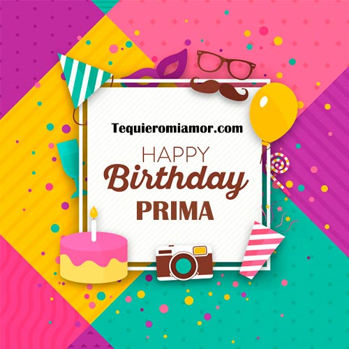 Happy Birthday Prima